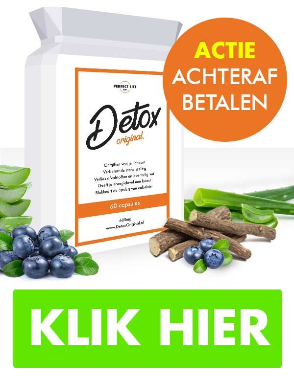 DetoxOriginal – lichaam detox - review – fabricant – radar