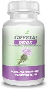 Crystal Detox - lichaam detox - kruidvat - radar - instructie